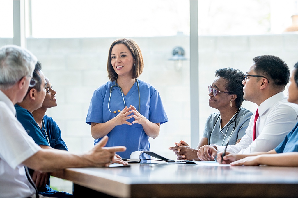 Doctors meeting about Standard Of Care
